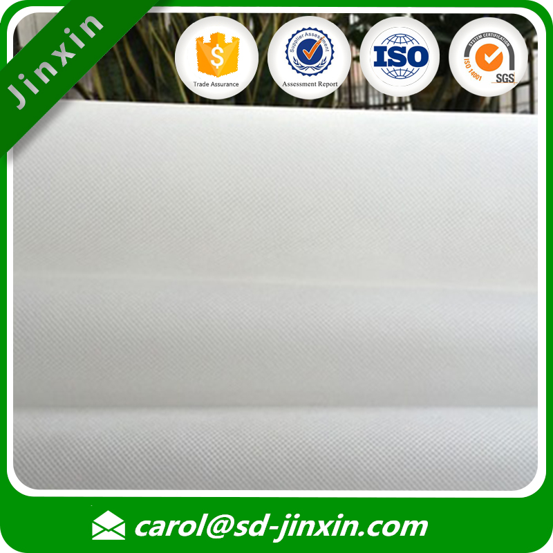 100% polypropylene material non woven spunbond embroidery backing paper