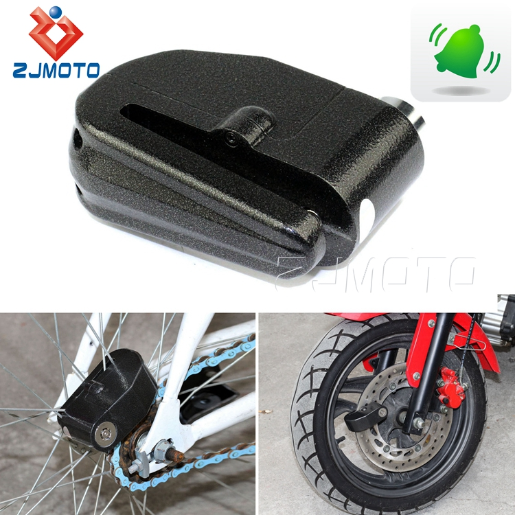 Universal 120 DB 6mm Anti Theft/Security Loud Alarm Disc Lock For Motorcycle Motorbike Scooter Bike