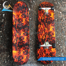 Best selling quality long duration time kid chinese maple skateboard decks maple long complete board for sale