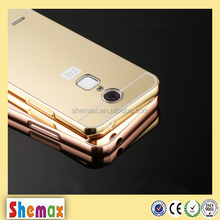 Top-selling luxury mirror metal case for zte blade a1