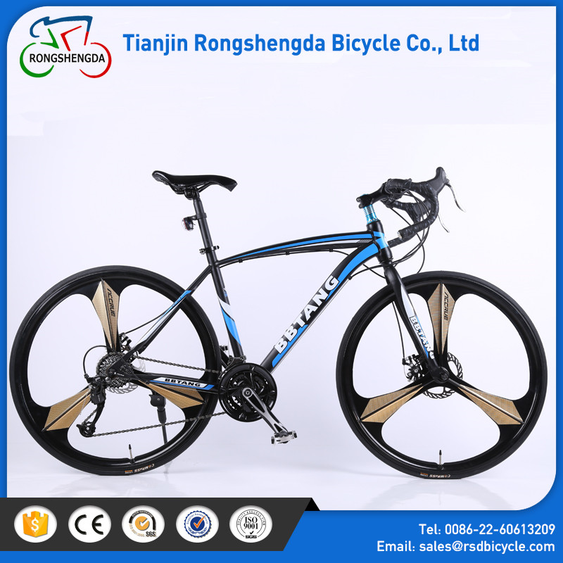 2017 latest model bicicleta and price road bicycle/700C 21 speed road bike,road bicycle, double disc bend handlebar