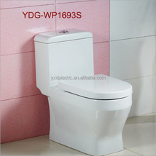 Toielt seat bathroom poly resin toilet seat cover