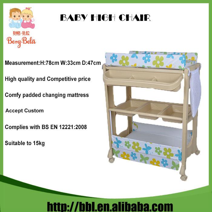 Mesa de pl stico plegable beb cambiador port til beb for Mesa cambiador bebe