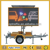 LED Full Matrix Led Sign Control Board With 12V Solar Power Supply