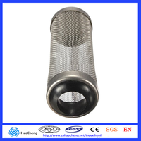 17mm 21 mm stainless steel crystal cherry filter intake guard protect fish shrimp coral/tank/pond