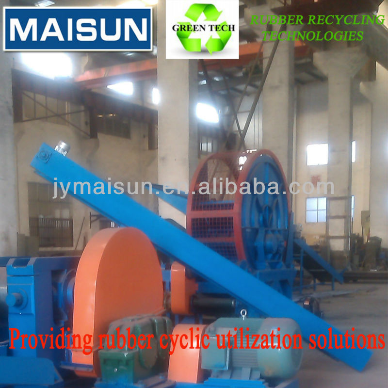 radial tyre recycling, radial tire recycle machine