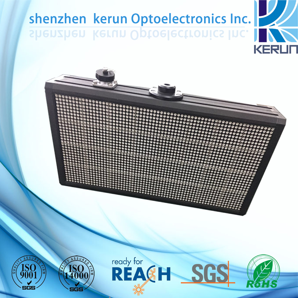 high brightness semi-outdoor double-sided 32*64 led dot matrix display screen