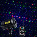 Garden Laser Lights RGB Waterproof Holiday Laser Light Projector with Security Lock