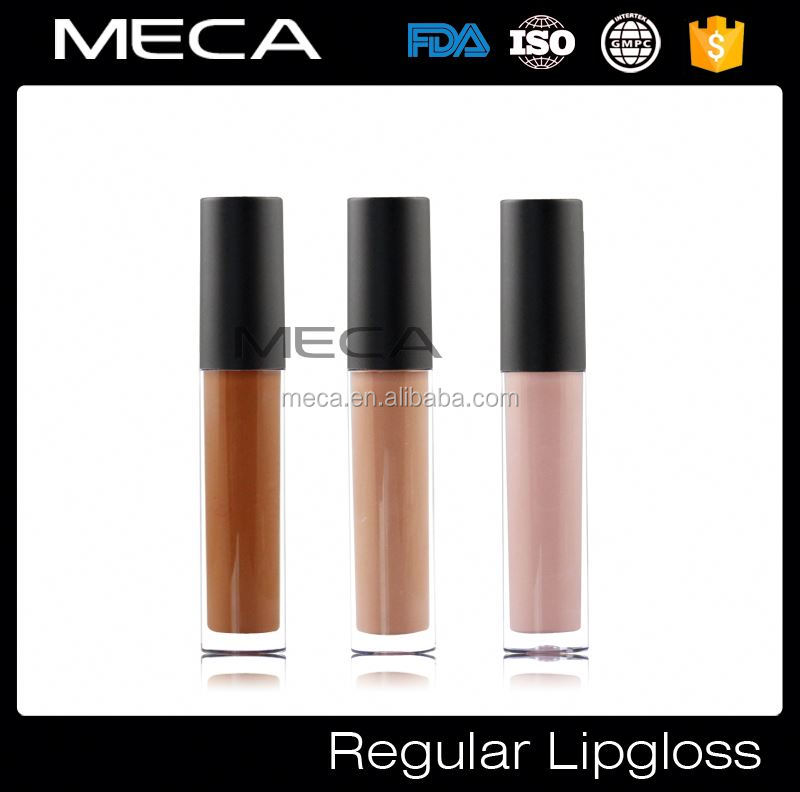 regular lip gloss private label plastic lipgloss pencil