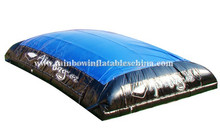trampoline inflatable jumping mat blob