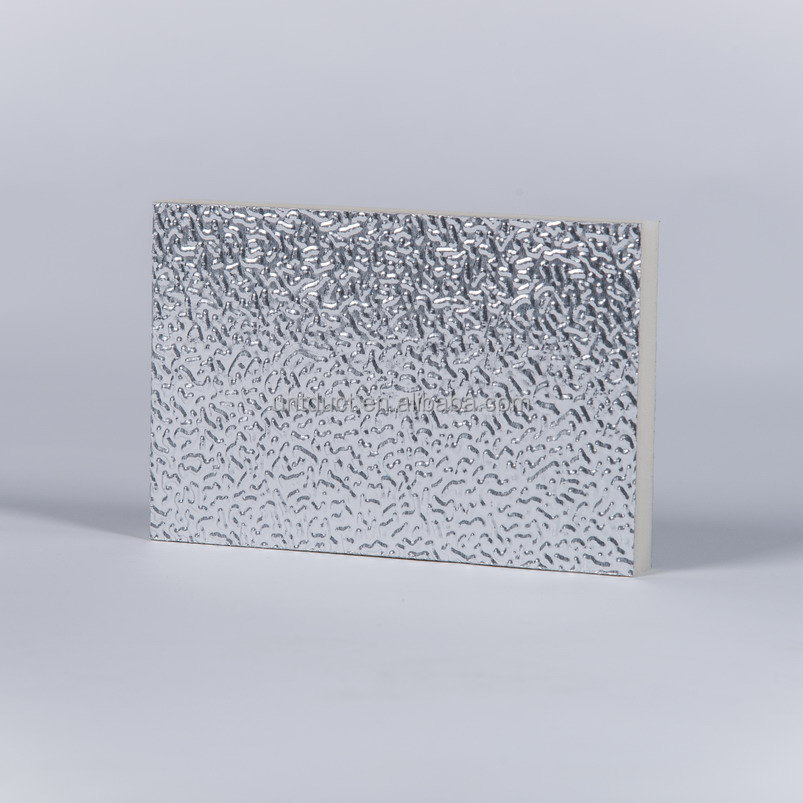 UNTDuct Polyisocyanurate (PIR) Foam Pre-insulated Aluminum Duct for Air Ventilation