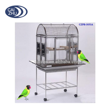 Wholesale Outdoor Strong Opentop Large Stainless Steel Parrot Cage