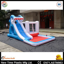 best sale inflatable hippo water slide for fun
