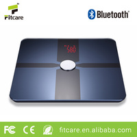 Professional Commercial Most Accurate Electronic Digital Weighing Digital Human Bluetooth Smart Body Fat Glass Scale