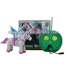 new electronic animal toy remote control toy for kids RC horse from dongguan city icti factory