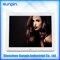 10 inch video mp4 singing digital photo frame with Remote control