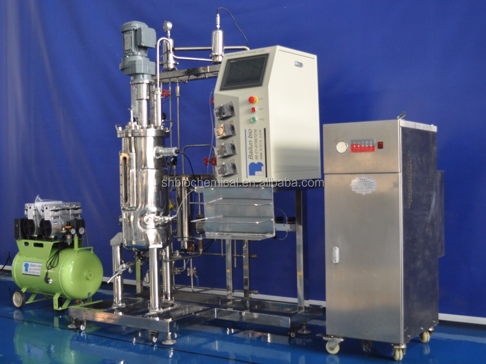 Automatic Stainless steel Jacketed Fermenter Bioreactor