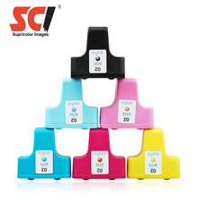 Hot Compatible Ink Cartridge 02 for HP Photosmart 3313 8230 C5150 C5180 D7360 Printer