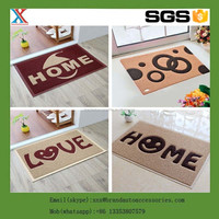 Anti-Slip Entrance Twin Ribbed PVC Carpet Door Mat/new style PVC door mat,design mat