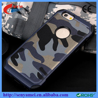2016 New Arrival PC TPU Cover Camouflage Case For iPhone 5 5S 6 6 Plus