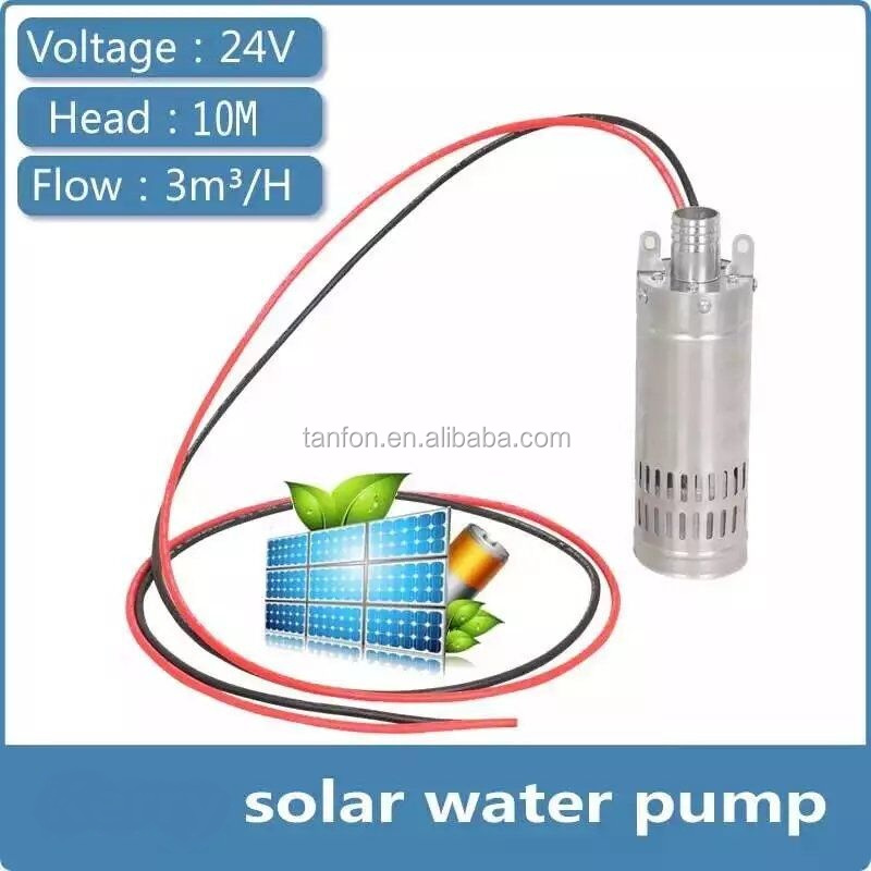 120W 240W Solar Submersible Deep Well Pumps,Solar Water Pump For Garden Irrigation