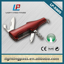 Red multi function pocket knife
