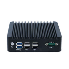 Yanling mini computers dual Gigabit <strong>network</strong> Intel celeron N3160 CPU fanless thin computer support ONE USB3.0