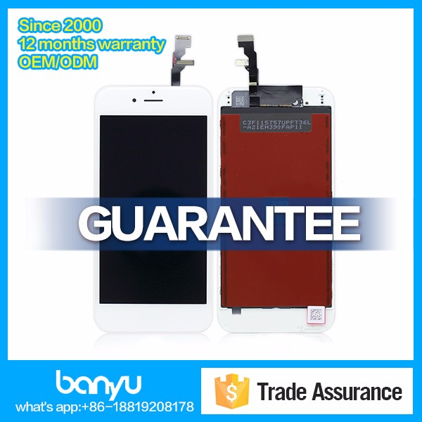 Assembly touch digitizer controller ic with lcd screen for iphone 6