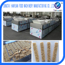 Healthy snack rice candy bar making machine, rice cake forming machine