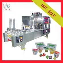 automatic water cup filling and sealing machine for juice/jelly/water