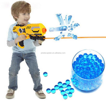 2017 New Summer Toys Packet Colored Soft Crystal Water Paintball Gun Bullet Grow Water Beads Grow Balls Water Gun Toys