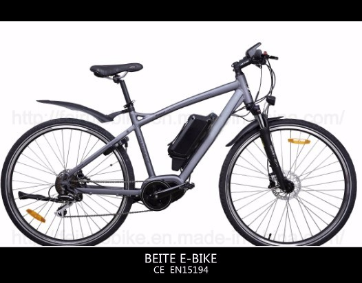 European Style Mid drive motor electric bike with CE certification