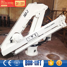 Professional folding hydraulic marine crane manufacturer(1-25ton available)