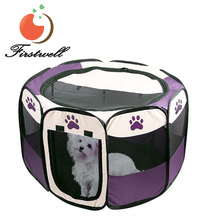 Soft Sided Mesh Fabric Pet Cage Dog Outdoor Playpens