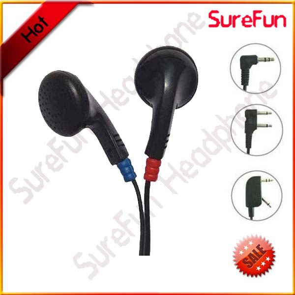 media players, buses, airlines U Earphones in ear disposable airline air linens earbuds earphone