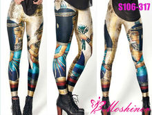 New egypt printed leggings girls pictures sexy pantyhose leggings