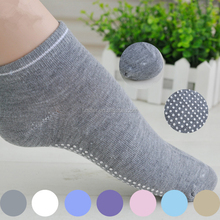Men women compression sports Yoga sock, Summer 100% cotton non-slip socks