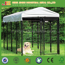 6ft HighX4ft WidthX8ft Depth Outdoor Boxed large welded Dog Kennels