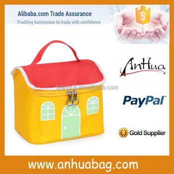 Cute house lunch bag food warmer for kids