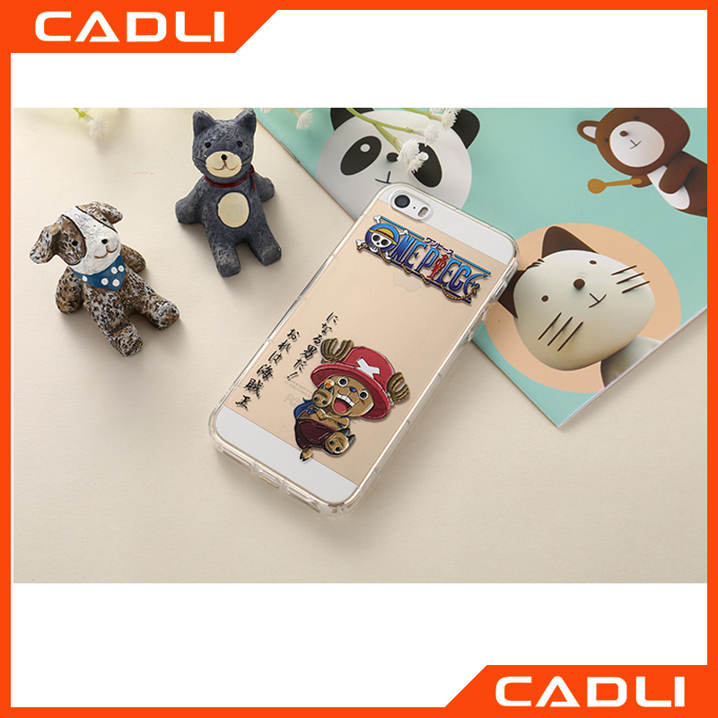 2016 New design Case cover for Iphone 5 5se Cute Printed Cartoon Silicon TPU Back cover for Iphone 5s