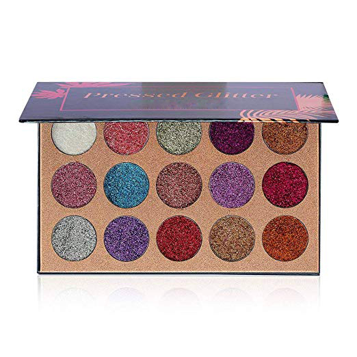Pressed Glitter Eyeshadow Palette Private Label