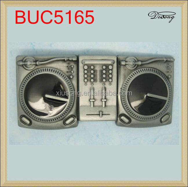 BUC5165 Nickel Free Men Belt Buckle Radio Music Belt Buckle