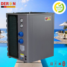 High COP performance steel case air source swimming pool heat pump solar water heater for heating and cooling, CE CB