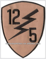 Embroidery Number Patches design