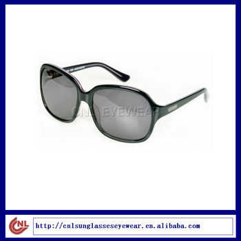 Woman Round Sunglasses with CR-39 Sun Lens