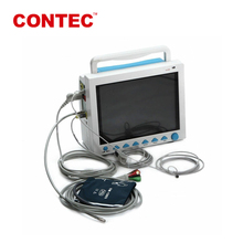 "March Only!CONTEC CE FDA Approved 6 parameters 12.1"" screen ICU ambulance patient monitor"