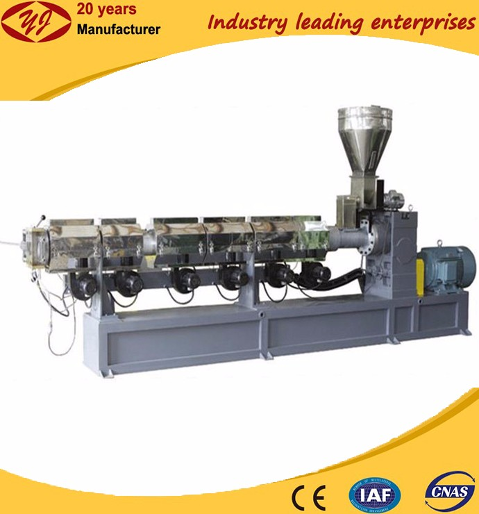 High quality production line pe film recycling single screw extruder