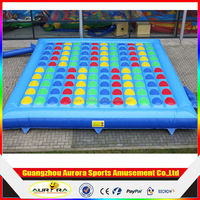 custom made family game inflatable twister mattress,giant inflatable twister bed