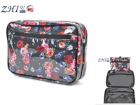 Latest wholesale BSCI promotional cheap deluxe PVC travel toiletry cosmetic makeup bags