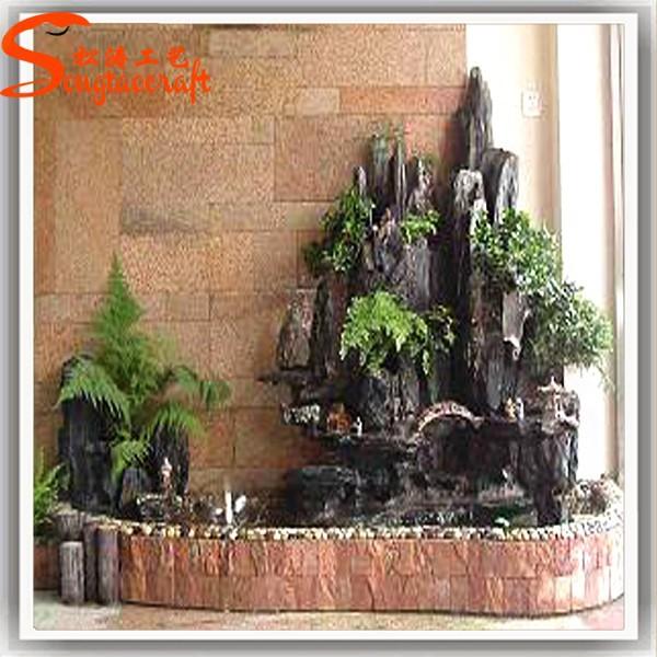 Gro handel k nstliche garten wasser brunnen f r dekor for Cascadas para exteriores